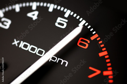 Poster REV COUNTER TACHOMETER