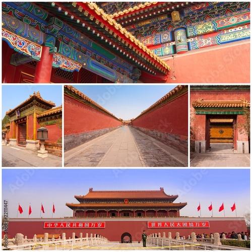 Foto op Aluminium Beijing Cité interdite à Pékin - Forbidden city in Beijing - China