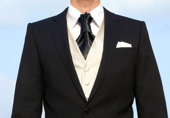 Bräutigam, Hochzeitsanzug