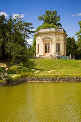 The Belvedere over the lake of Versailles Chateau, France