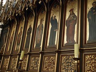 Krakow - St. Catherine's church interior