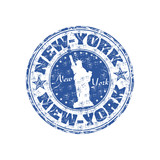 Fototapety New York rubber stamp