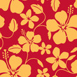 Seamless Hawaiian Hula Pattern