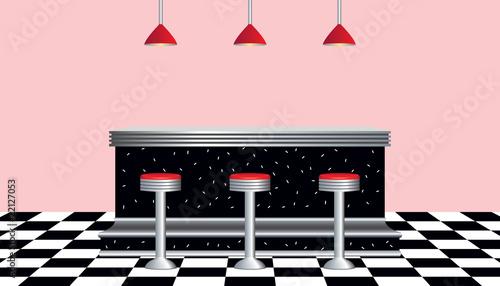 Retro Diner 1950's - 22127053