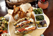 Rustic Vegetarian Platter