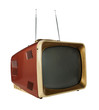 Vintage Television - With clipping Path