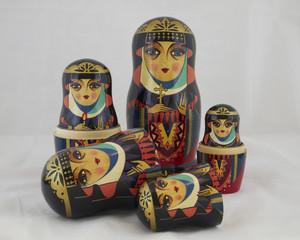 Russian nesting dolls , babushkas