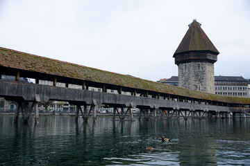 Bridge of the luzern city