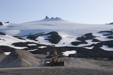 Volcán-Glaciar