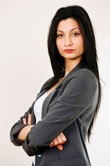 Tough female boss