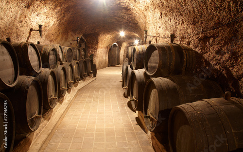 Corridor in winery