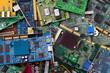 Cartes PCI périmées en attente du recyclage - 22149278