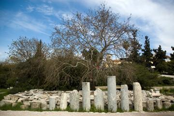 Athens, ancient ruins