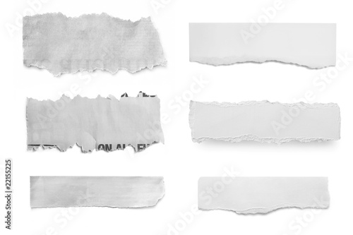Leinwanddruck Bild Paper Tears