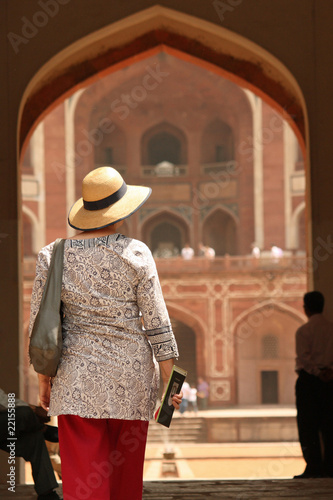 Spoed canvasdoek 2cm dik Delhi Delhi_1