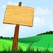 Cartello in legno personalizzabile