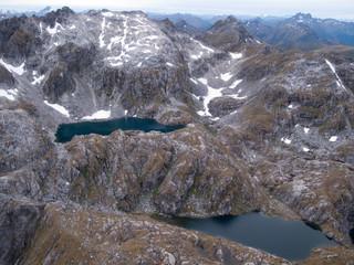 Mountains near Queenstown in New Zealand