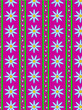 Vector Floral Pink Striped Wallpaper Background