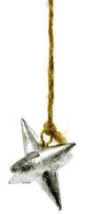 plomb étoile, pêche au lancer, fond blanc