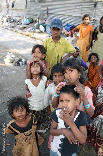 Streetside Beggar People