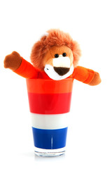 Dutch soccer lion