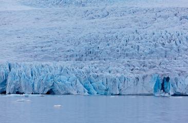 Fjallsarlon Glacial lake and Fjallsjokull glacier, Iceland