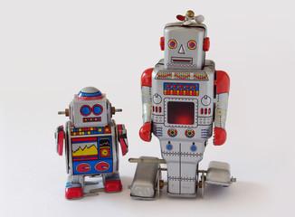 Spielzeugroboter aus Blech