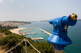 Viewpoint at Pylos in Greece poster