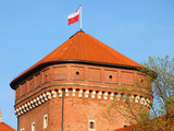 Wawel tower poster
