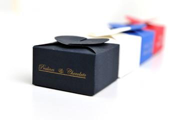 chocolate and praline box