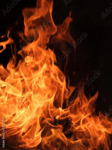 In de dag Vuur / Vlam Feuer und Flammen