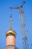 Russian Christian Church.Religion poster
