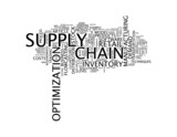 Supply Chain Optimization poster