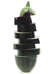aubergine stack