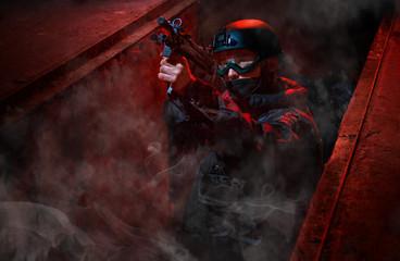 Anti-terrorist  action