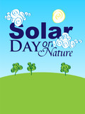Solar Day on the Nature