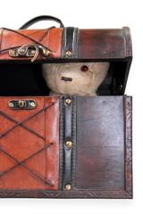 Teddy als Detektiv