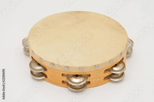 Leinwanddruck Bild Tamburin