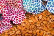 Leinwandbild Motiv Gebrannte Mandeln, Süßigkeiten, Jahrmarkt