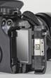 DSLR - Spiegelreflexkamera Karte einsetzen