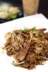 Fried Hor Fun (Rice Noodle)