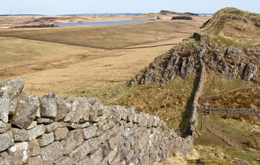 Hadrians Wall Following the Terrain