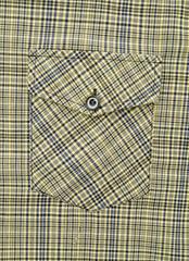 Pocket of men's  color shirt