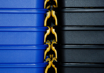 Details von Kunststoff Stapelboxen