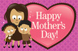 Happy Mother's Day Banner - African American