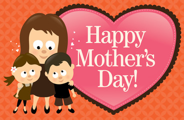 Happy Mother's Day Banner - Hispanic