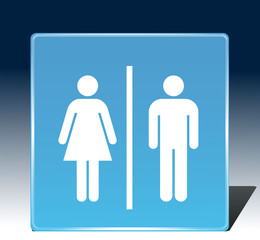 Male Female sign icons