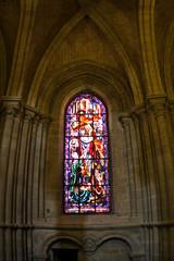 Cathedral Notre Dame interior, Lausanne, Switzerland