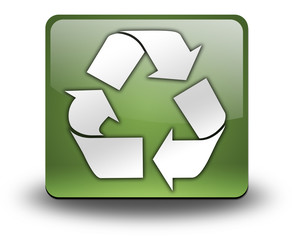 """3D Effect Icon """"Recycling"""""""