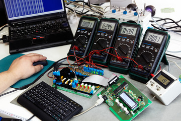 final checking of electronic assemblies 01